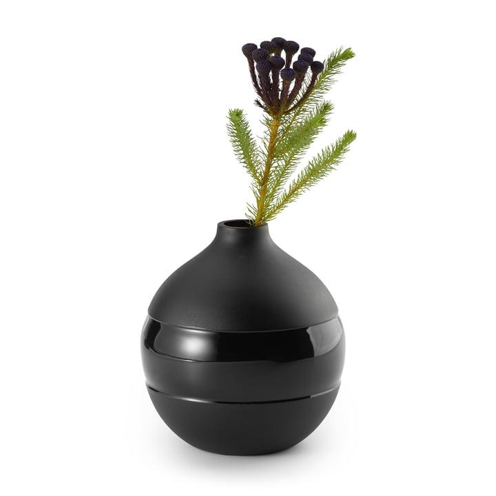 Negretto Vase S, sort af Philippi