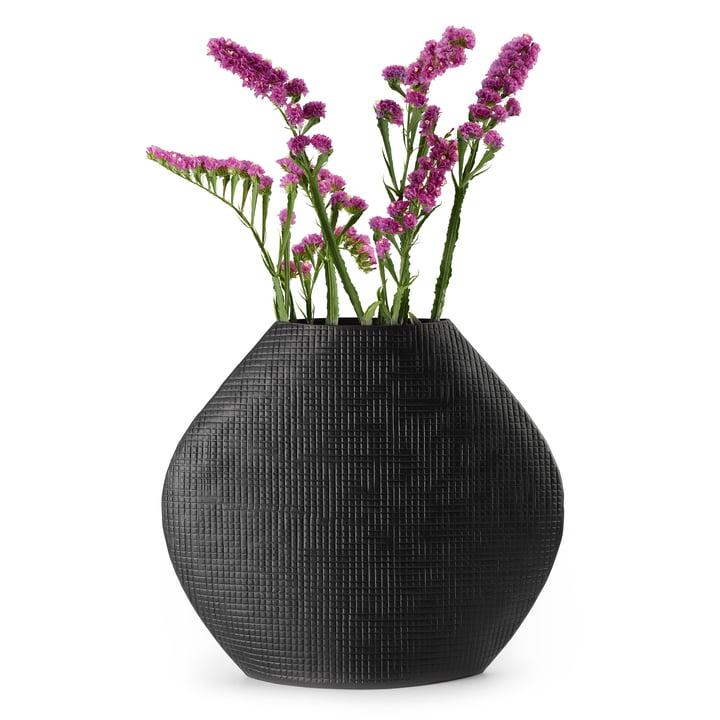 Outback Vase L i sort af Philippi