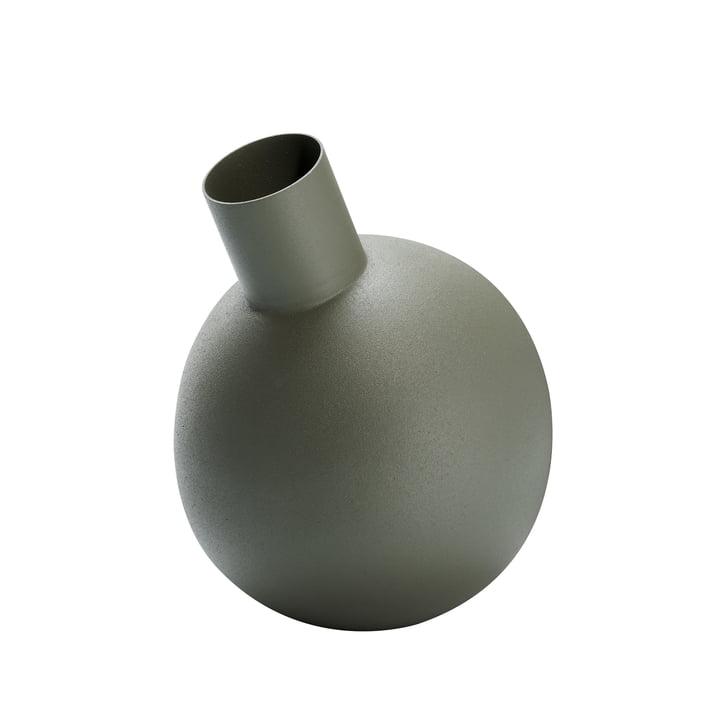 Ballon vase S i grønt af Philippi