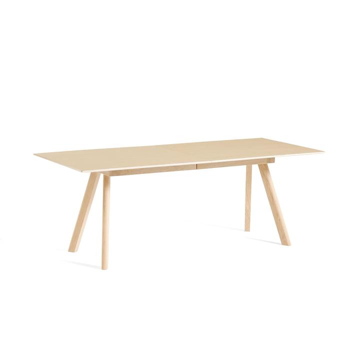 Hø - Copenhague CPH30 udtrækkeligt spisebord, L 160/310 x B 80 x H 74 cm, matlakeret eg