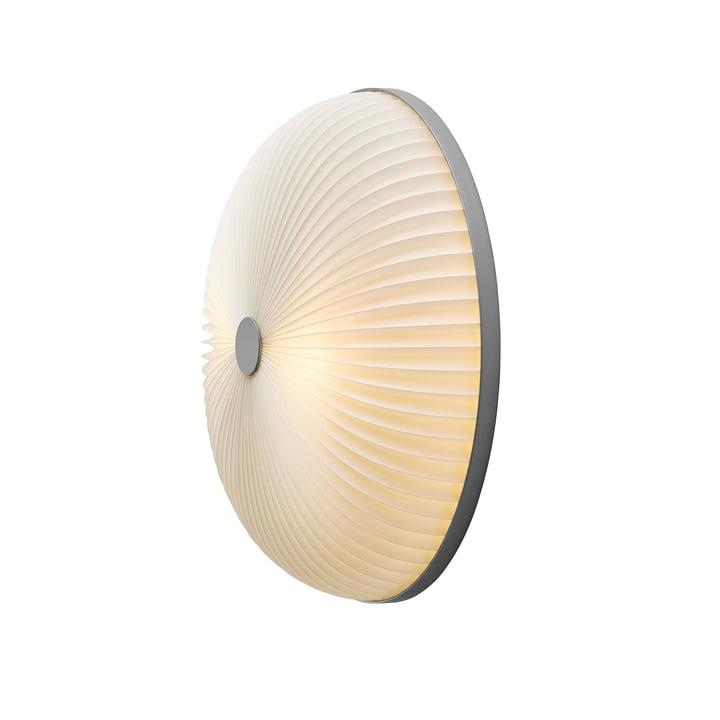 Lamella væg- og loftslampe Ø 35 cm af Le Klint i sølv / hvid