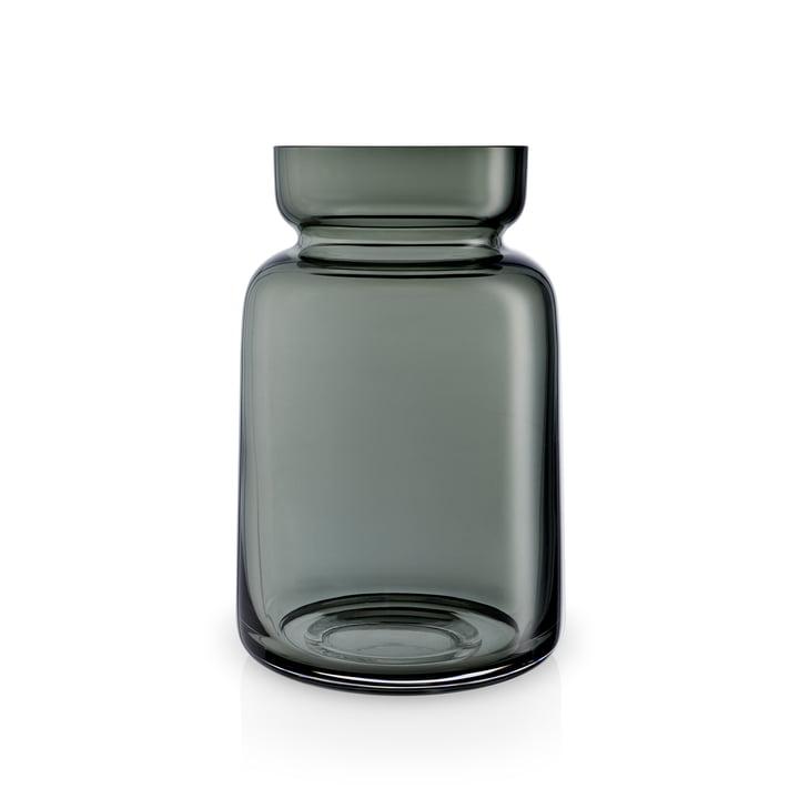 Silhuetglasvase H 18,5 cm af Eva Solo i røgfri grå