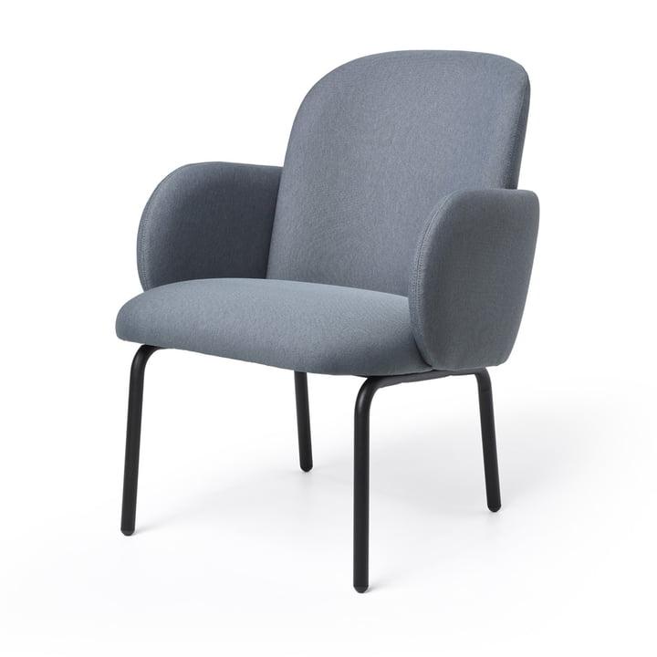 Dost Lounge Chair fra Puik i mørkegrå