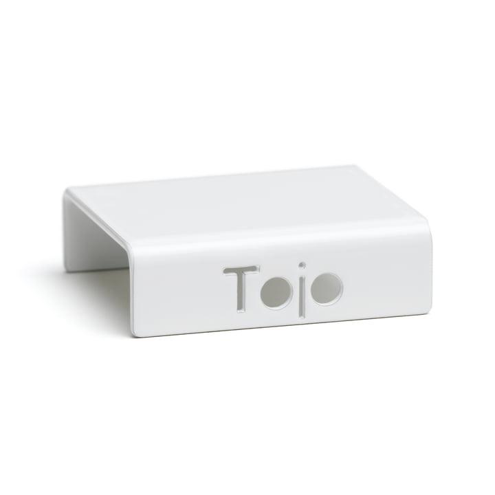 Clip til Hochstapler reolsystem af Tojo i hvidt