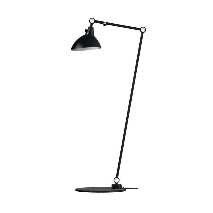 Modulær 556 gulvlampe fra Midgard 120/30 cm i sort med samling af aluminiumsforbindelser