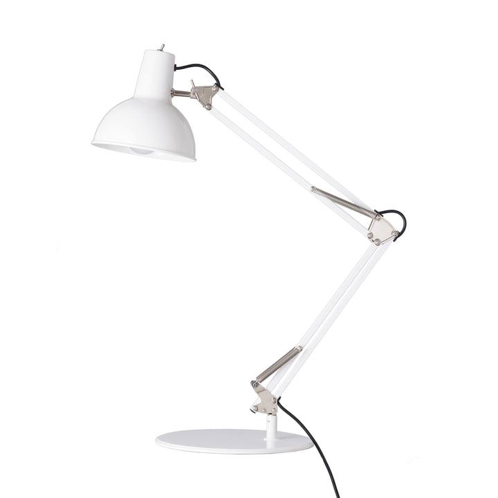 Springbordslampe fra Midgard i hvid
