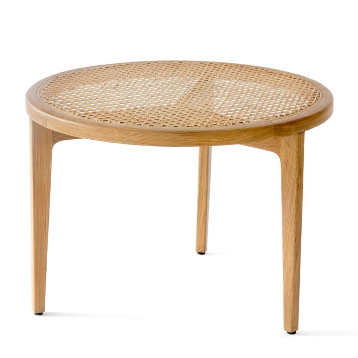 Le Roi sofabord Ø 60 x H 42 cm af Norr11 i naturlige eg