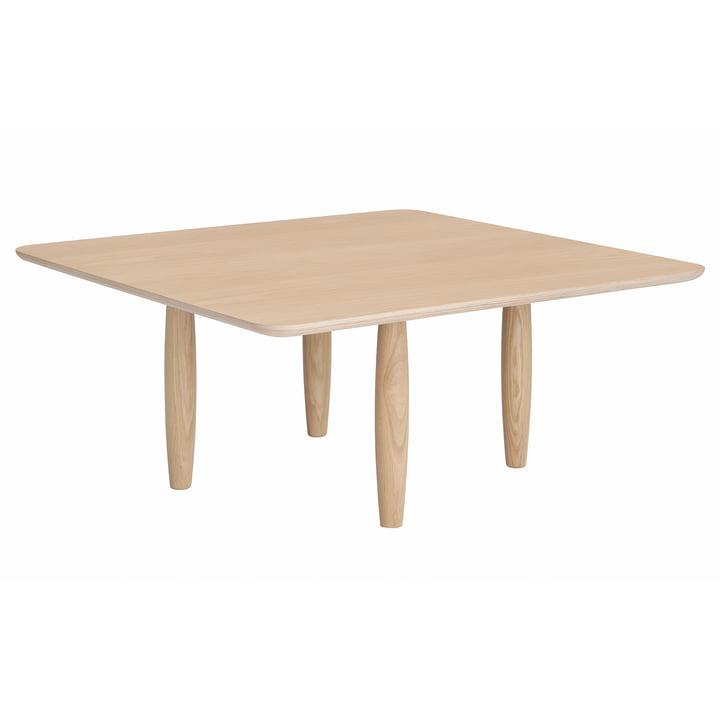 Oku sofabord Ø 80 x H 36 cm af Norr11 i naturlig eg