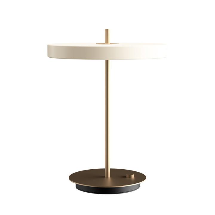 Asteria LED bordlampe Ø 31 x H 41,5 cm fra Umage i perle