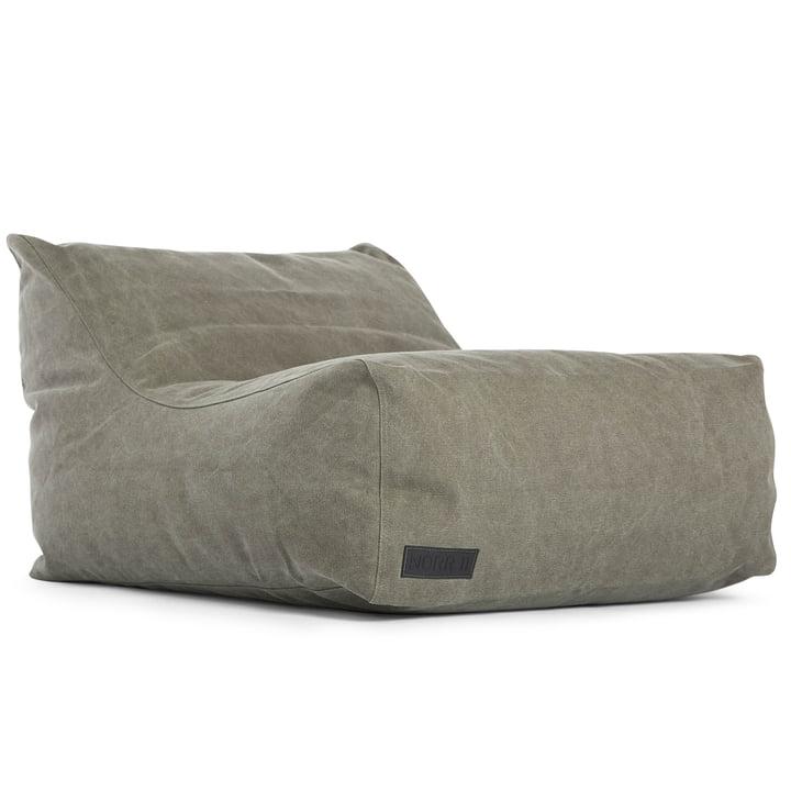 Club Lounge stol af Norr11 i lærred mørkegrøn (011)