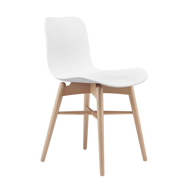 Langue Original stol fra Norr11 i naturlig bøg / off-white