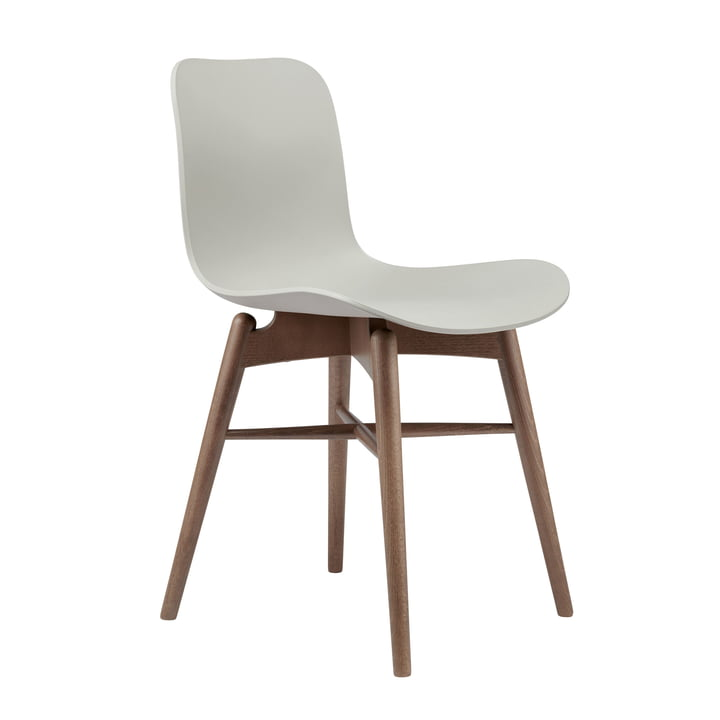 Langue original stol fra Norr11 i bøg røget / flint grå