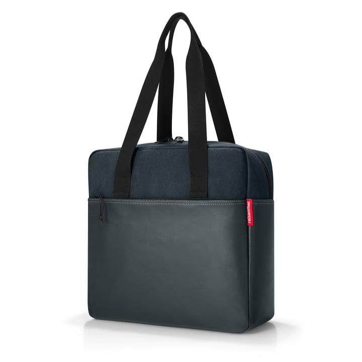 kunstner-taske fra rejsenthel i sort lærred