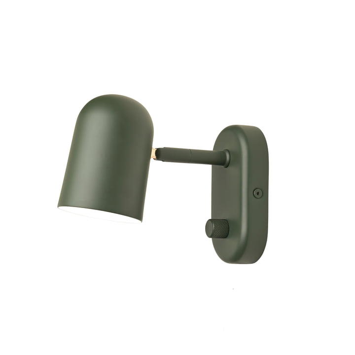 Buddy wall sconce by Northern i mørkegrøn