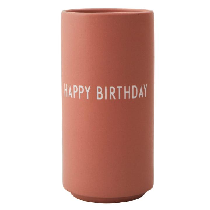 AJ favorit porcelænsvase Tillykke med fødselsdagen af Design Letters i nøgen