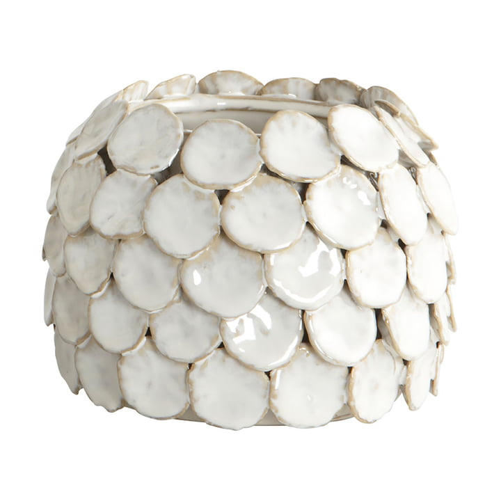 Prik Vase H 10 cm af House Doctor i hvidt