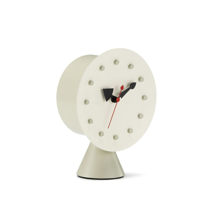 Cone Base Desk Clock fra Vitra