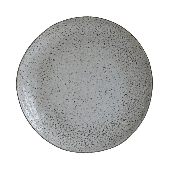 Plade Rustik Ø 27,5 cm, gråblå fra House Doctor