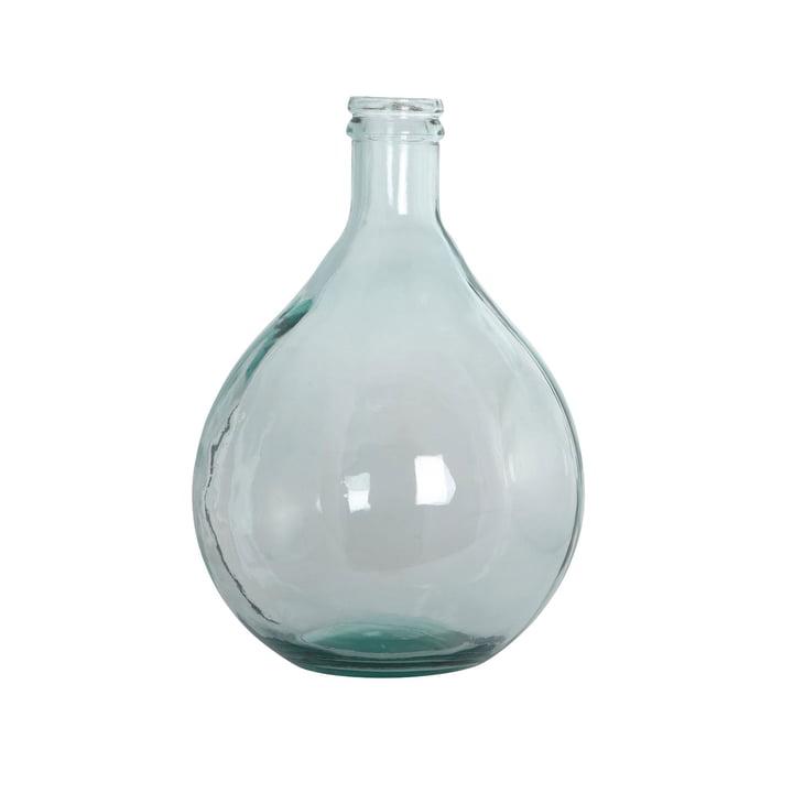 Flaskevase H 43 cm i grønt af House Doctor