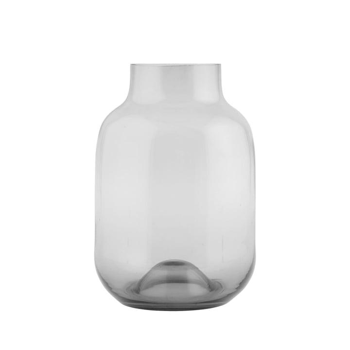 Formet vase af House Doctor i gråt
