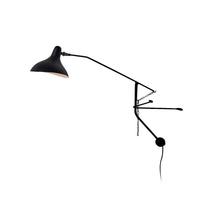 Mantis BS2 Mini LED væglampe, sort af DCW