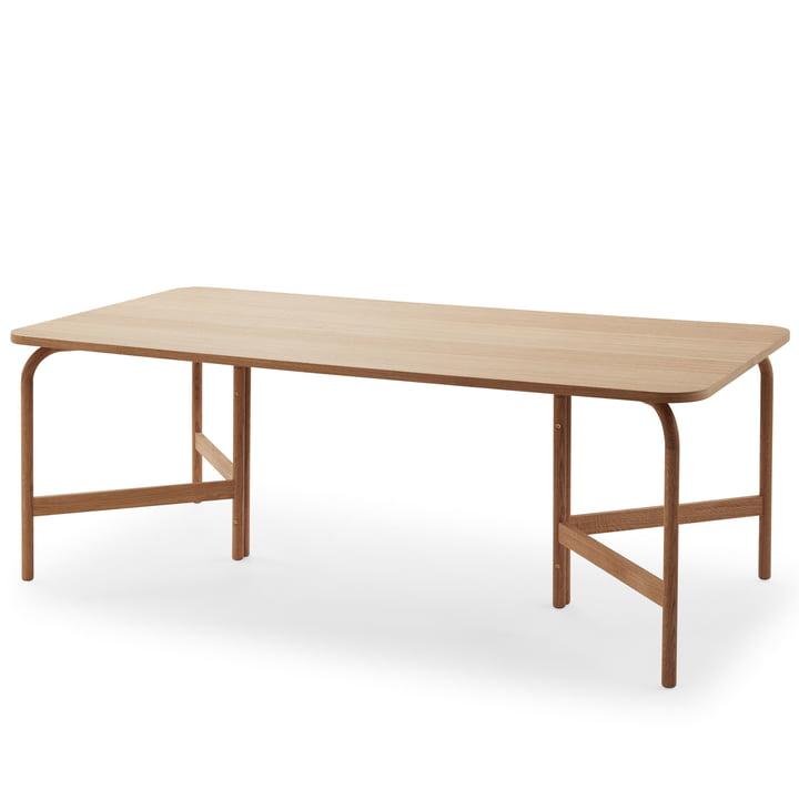 Aldus spisebord 200 × 100 cm olieret af Skagerak i egetræ