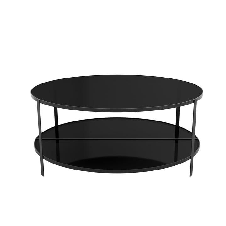 Fumi sofabord Ø 90 x H 37 cm af AYTM i sort