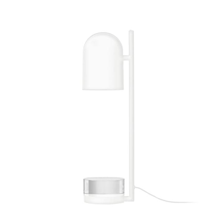 Luceo bordlampe Ø 12 x H 50 cm fra AYTM i hvid / klar