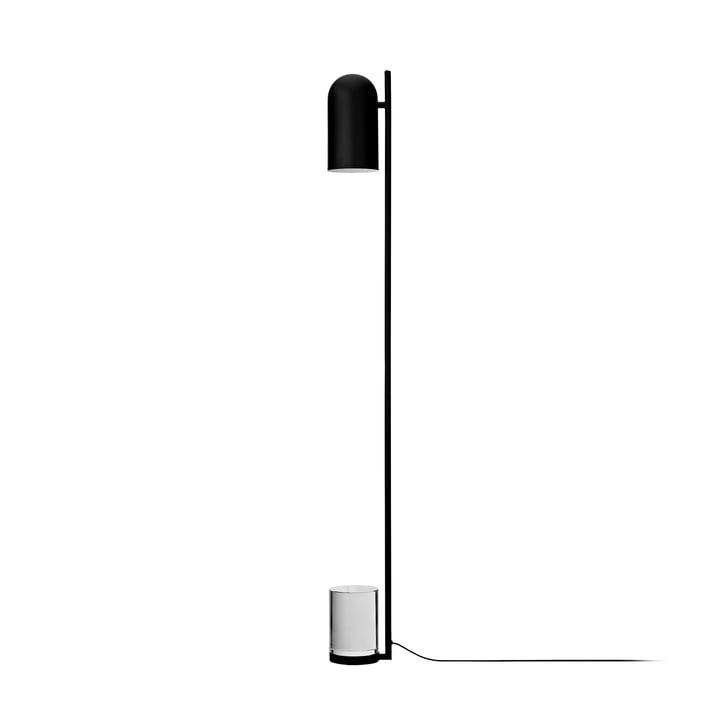 Luceo gulvlampe, Ø 12 x H 140 cm, sort / klar af AYTM