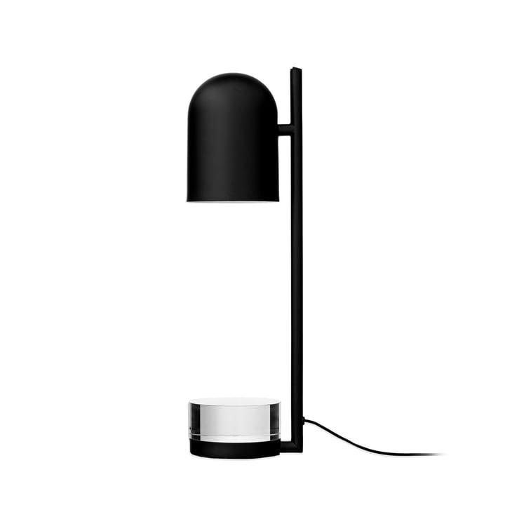 Luceo bordlampe, Ø 12 x H 50 cm, sort / klar af AYTM