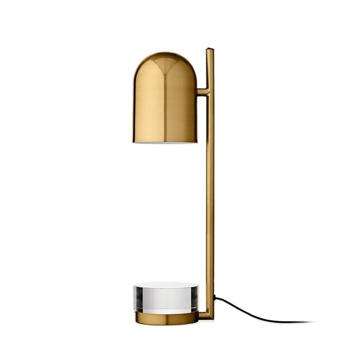 Luceo bordlampe, Ø 12 x H 50 cm, guld / klar af AYTM
