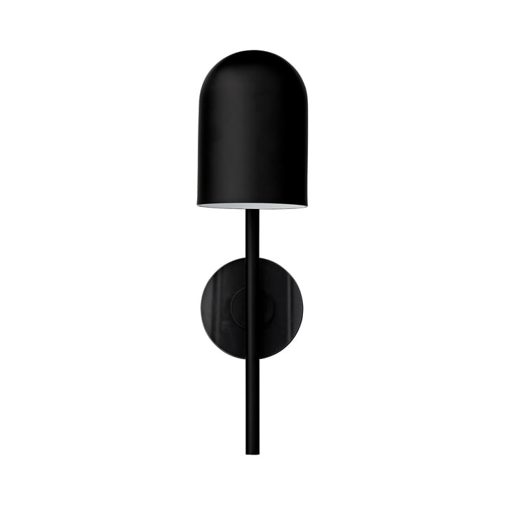 Luceo væglampe, Ø 12 x H 45 cm, sort / klar af AYTM