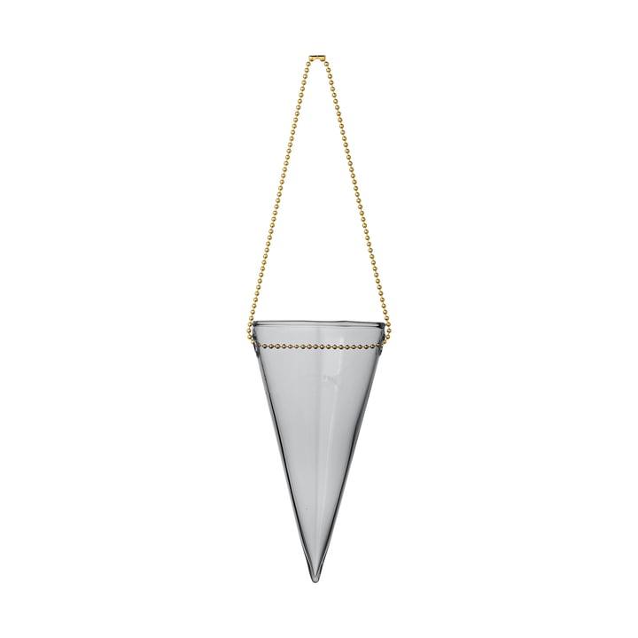 Monili julekornet, Ø 6 x H 12 cm, sort af AYTM
