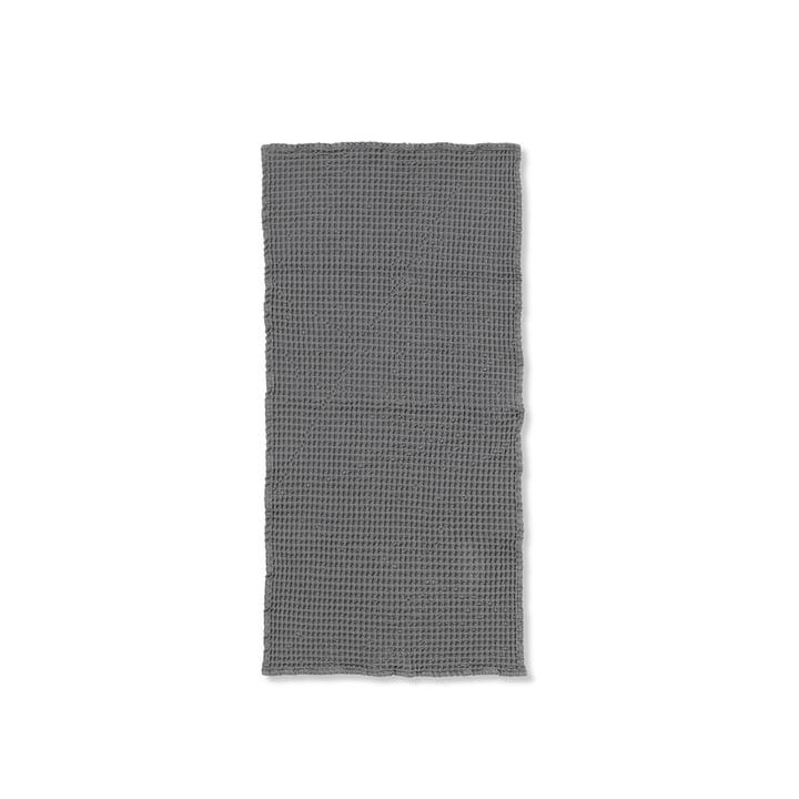 Organic håndklæde 100 x 50 cm fra ferm Living i grå