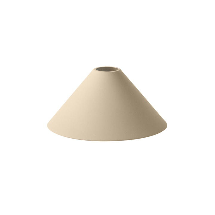 Cone Shade Lampshade by ferm Bor i beige