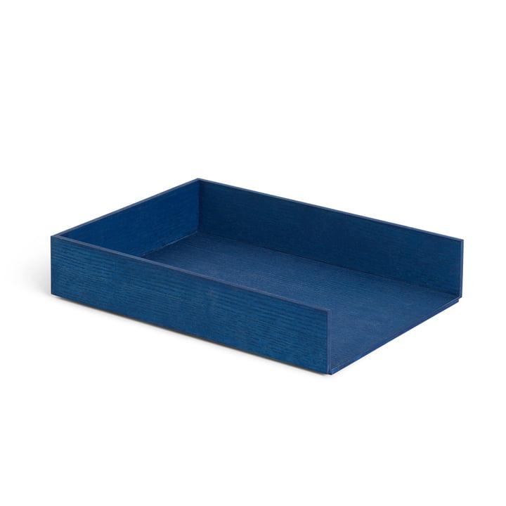 Brevbakke, aske farvet blå af ferm Living