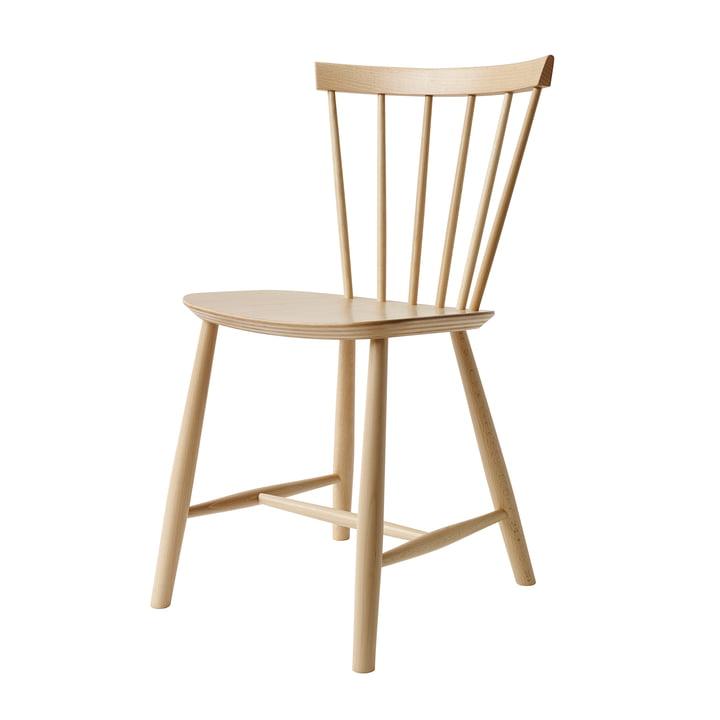 J46-stol, naturlig bøg af FDB Møbler