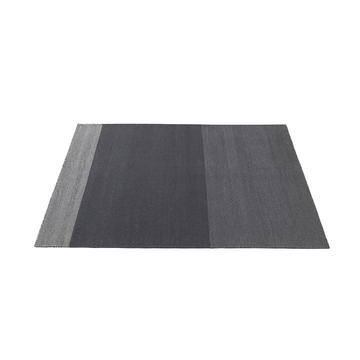 Varjo tæppe 170 x 240 cm fra Muuto i mørkegrå
