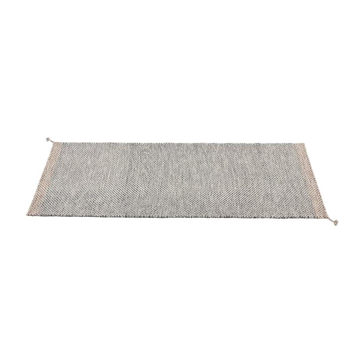 Læg tæppeløber 80 x 200 cm af Muuto i sort og hvid