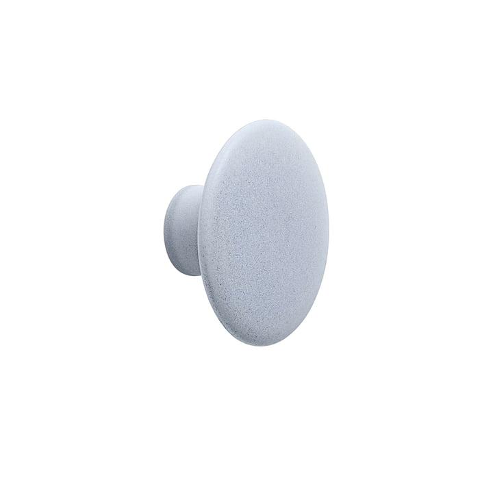 """Vægkrog """"The Dots"""" keramisk enkelt Ø 9 cm af Muuto i lyseblå"""