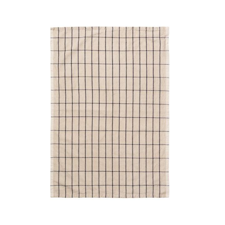 Hale-håndklæde fra ferm Bor i beige