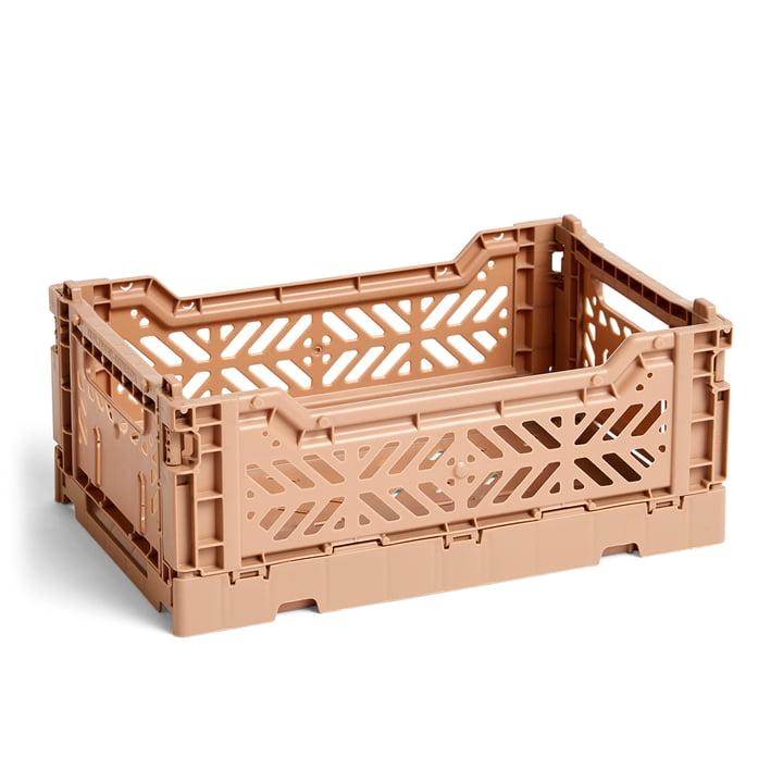 Hay - Colour Crate Basket S, 26,5 x 17 cm, nougat