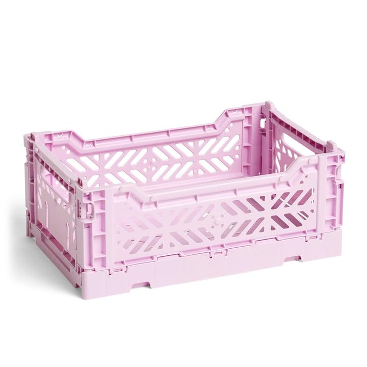 Hay - Colour Crate Basket S, 26,5 x 17 cm, lavendel