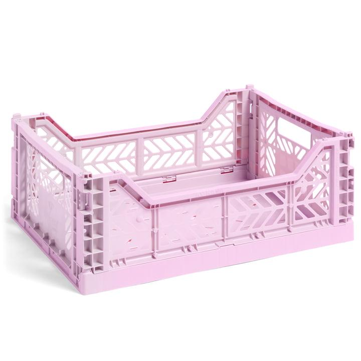 Colour Crate kurv M, 40 x 30 cm fra Hay i lavendel