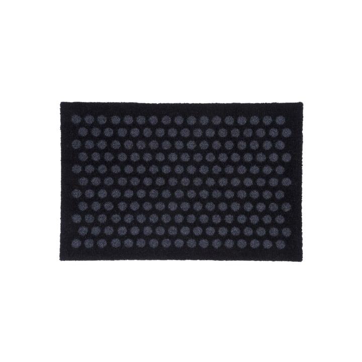 Prik dørmåtte 40 x 60 cm af tica copenhagen i sort / grå
