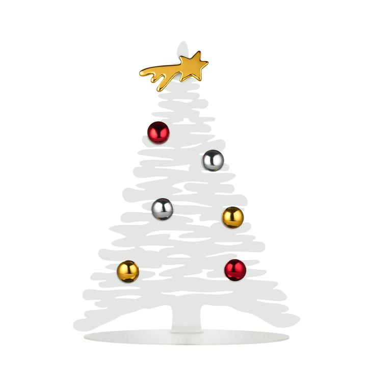Bark til jul H 30 cm af Alessi i hvidt