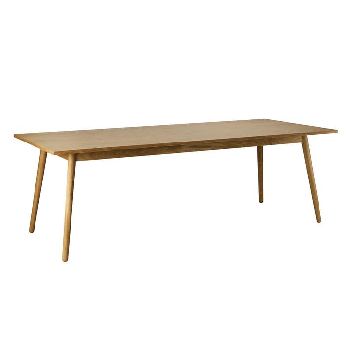 C35C spisebord, 95 x 220 cm, matlakeret eg af FDB Møbler
