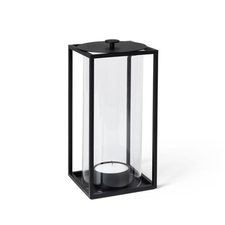 Let'in vindlys H 24 cm, sort af Lassen