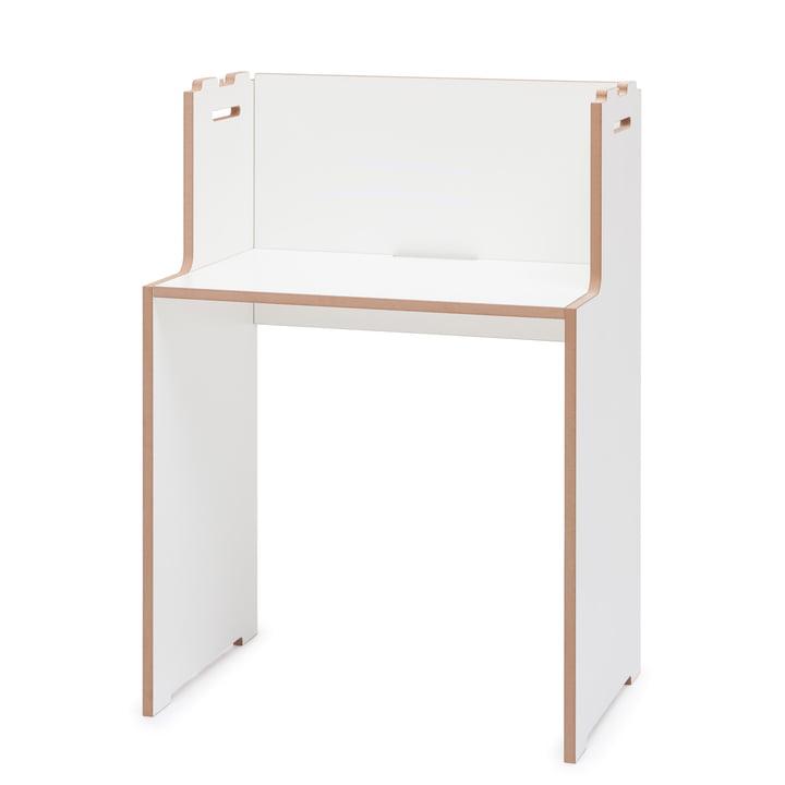 skrivebord af Tojo i hvidt