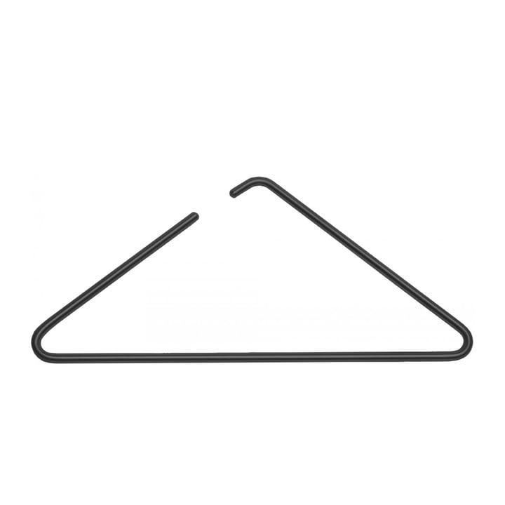 Triangle klædebøjle fra Roomsafari i sort